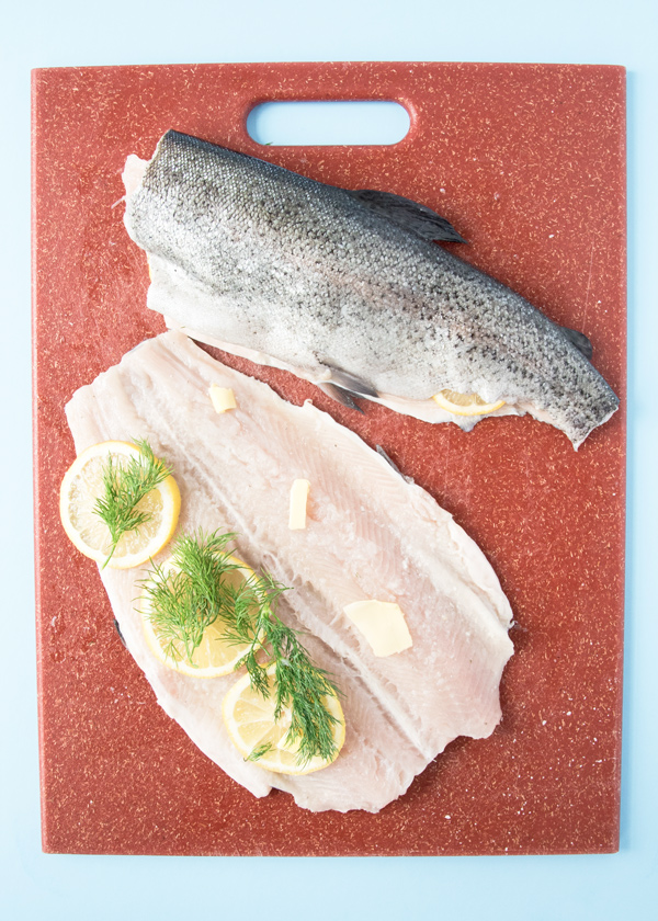 Rainbow trout with lemon and dill reicpe