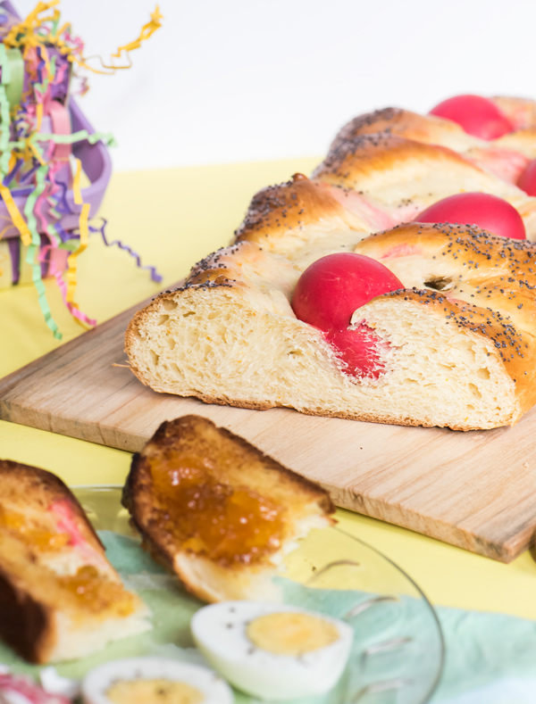 Celebrate with Sweet Easter Bread Recipe