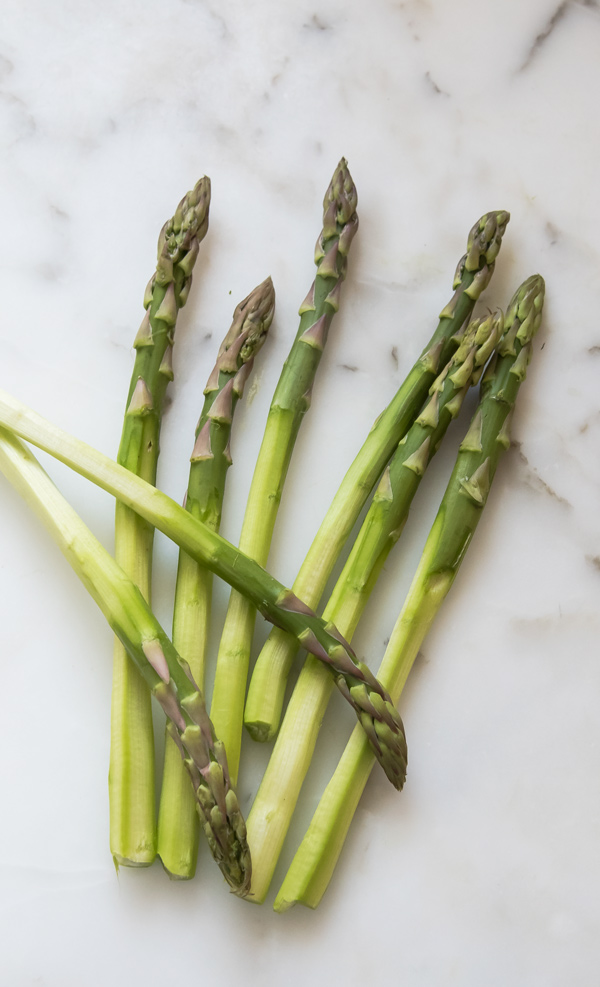 Asparagus with Orange Mayonnaise Dressing recipe