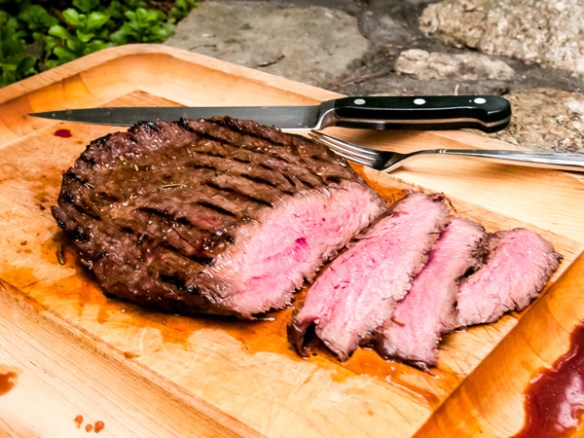 Grilled Sherry Marinated Flank Steak