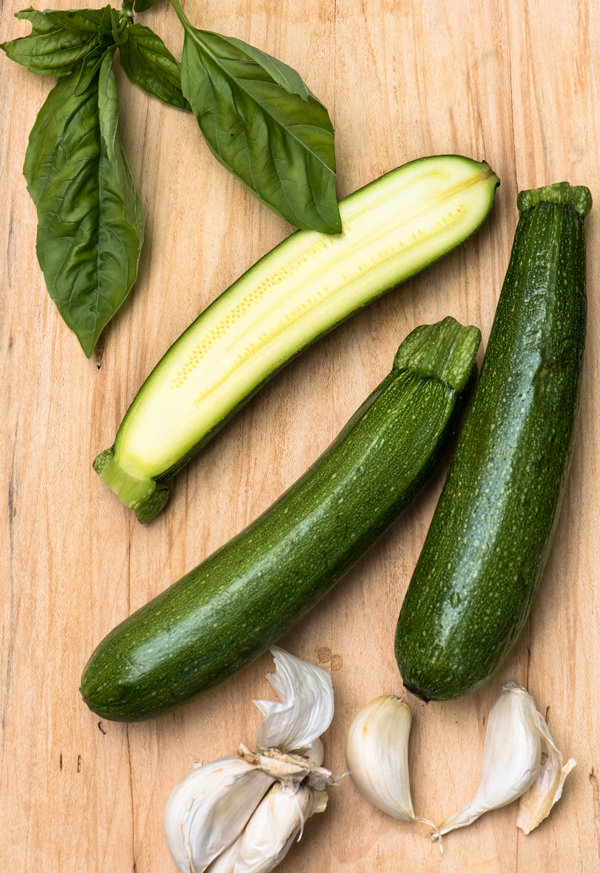 Basil Marinated Zucchini recipe