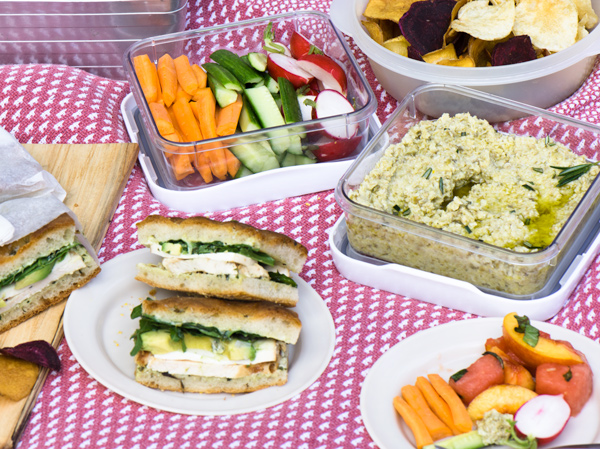 Easy picnic food ideas for late summer and fall lemon thyme and ginger easy picnic food ideas and recipes forumfinder Image collections