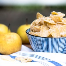 Crystallized Candied Ginger recipe