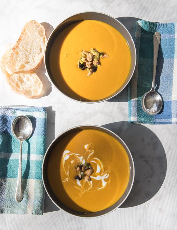 Kabocha Coconut Curry Soup Recipe
