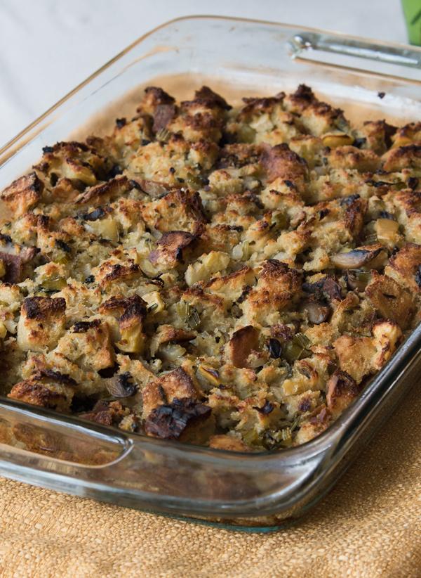 My favorite turkey stuffing recipe.