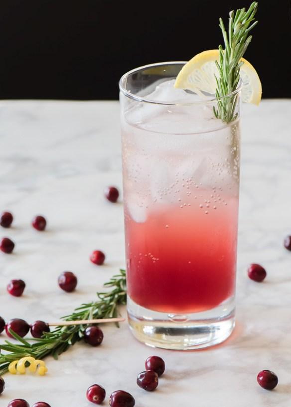 Spiced Cranberry Vodka Cocktail recipe.