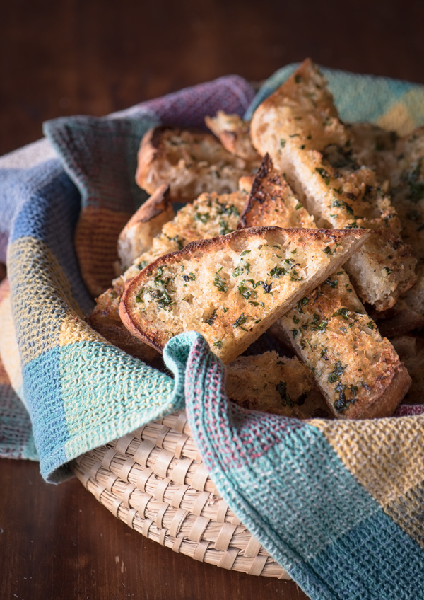 Garlic Bread with Fresh Herbs