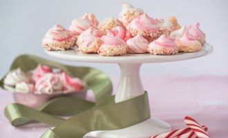 Peppermint Meringue Cookies: 3 Ways, recipe.