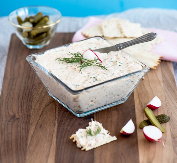 Airy Salmon Mousse, recipe