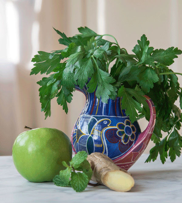Parsley Juice, recipe.