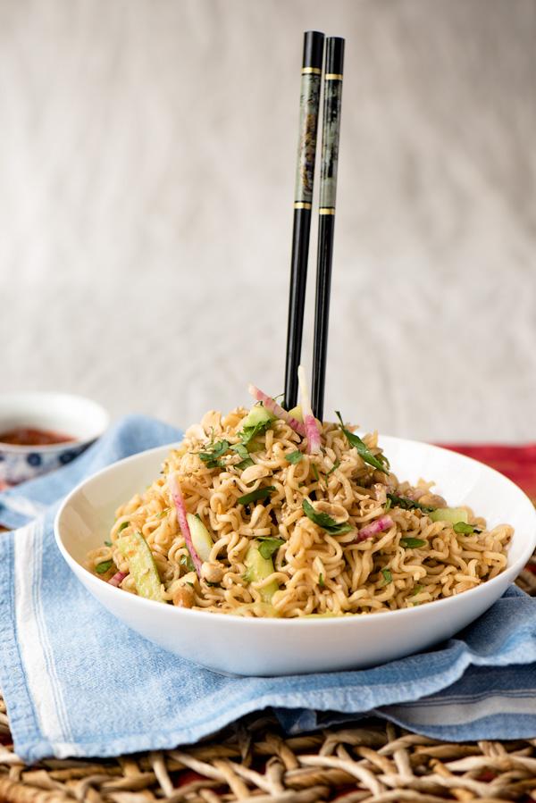 Cold Sesame Noodles, a recipe.