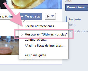 mostrar en ultimas noticias facebook lemonylimon