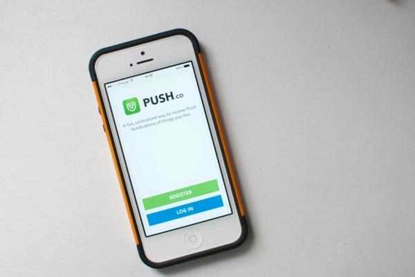 loguéate en ios app push.co lemonylimon