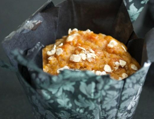 muffins de zanahoria