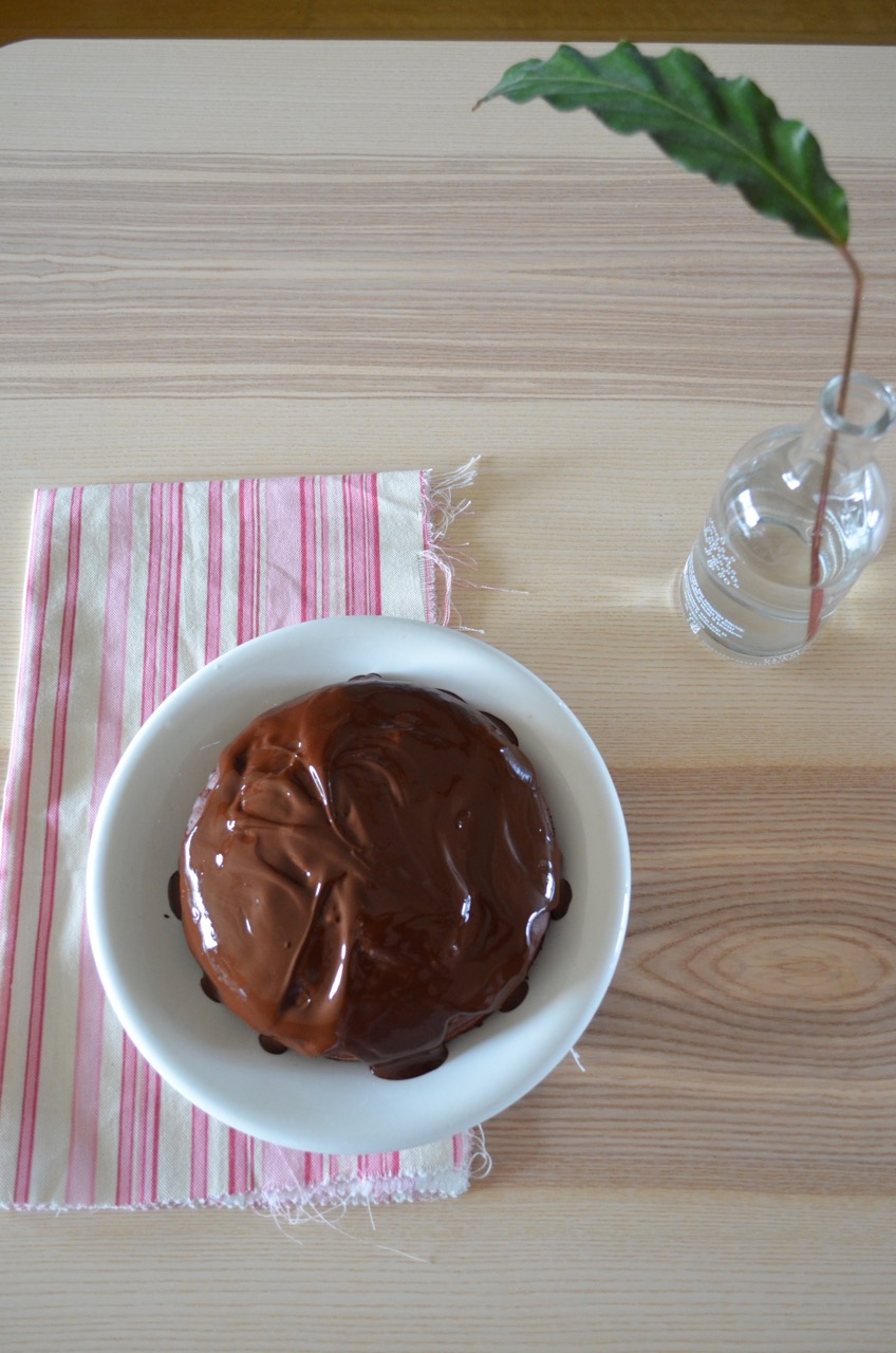pastel de chocolate saludable