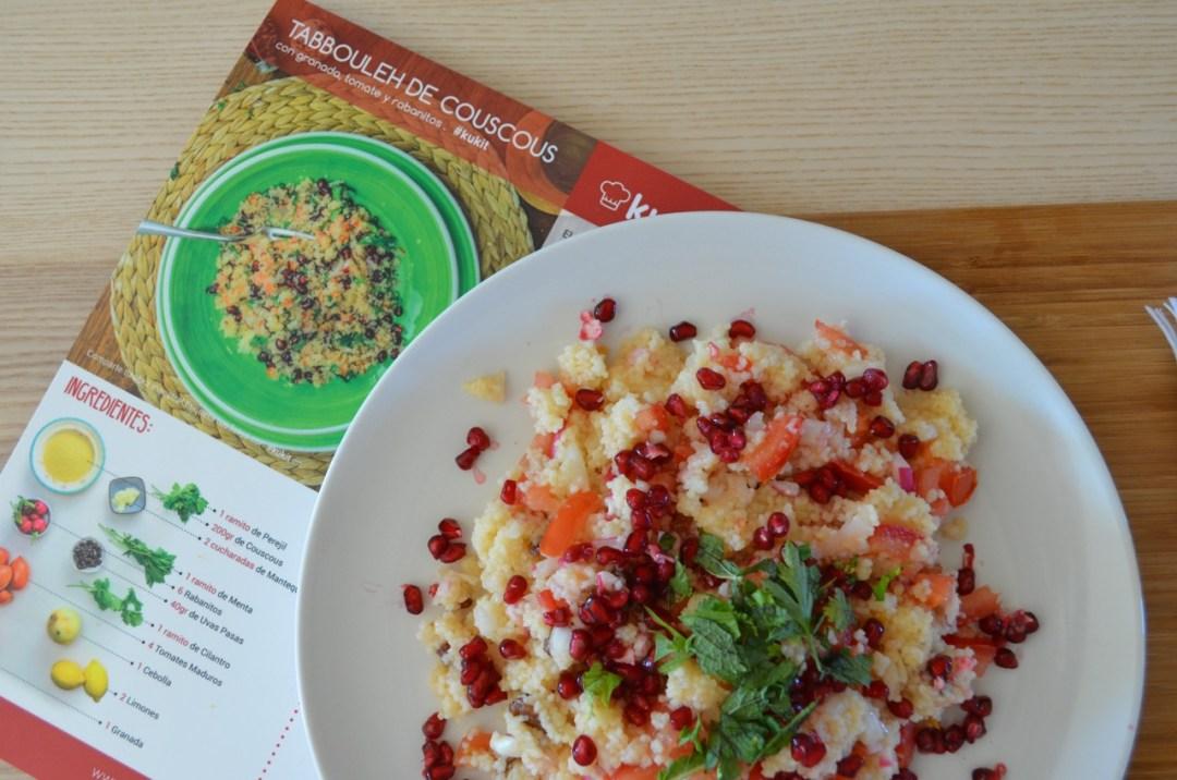 receta de tabbouleh