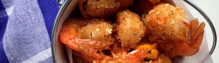 Coconut Almond Shrimp