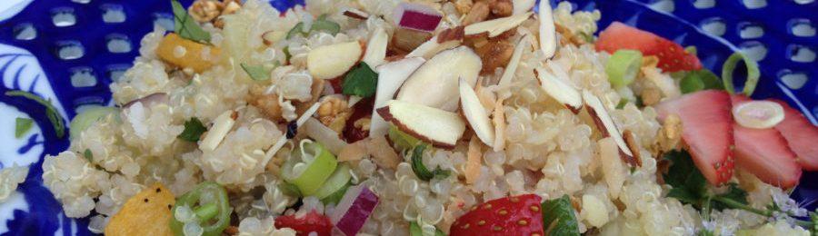 Quinoa Salad with Fruits & Citrus
