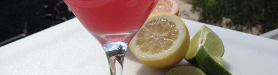 Rubytini Cocktail
