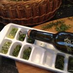 Fresh Herbs Frozen in Butter & Olive Oil