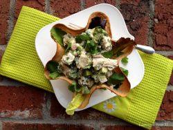 Cilantro Chicken Avocado Taco Salad