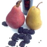 Peppercorn & Balsamic Poached Pears