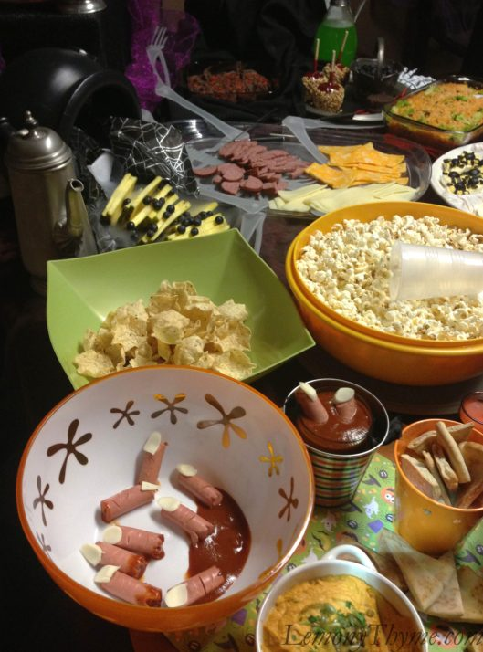 Halloween Buffet 2012_