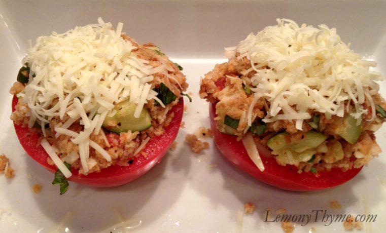 Herb Stuffed Tomatoes