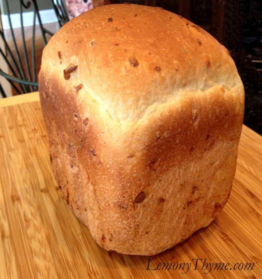 Homemade Pine Nut White Bread