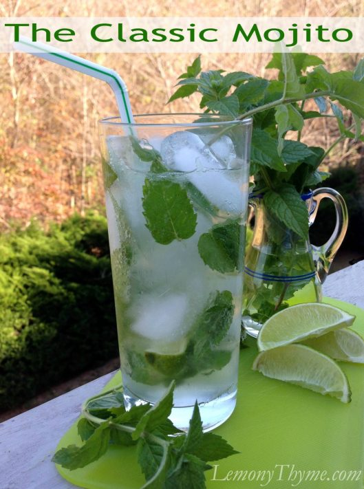 Classic Mojito from Lemony Thyme