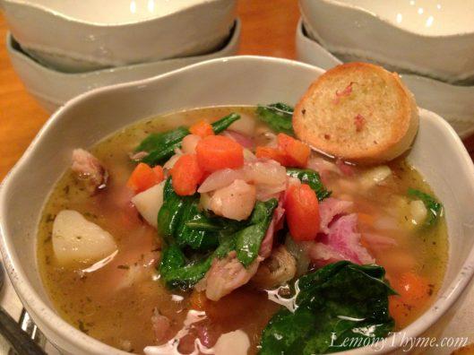 Ham Bone Soup