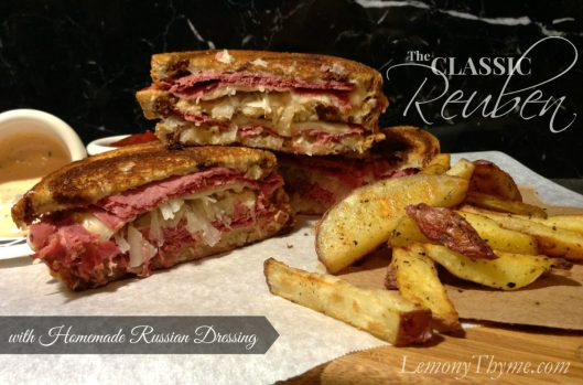 Reuben Sandwich from Lemony Thyme