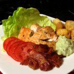 BLT Salmon Salad