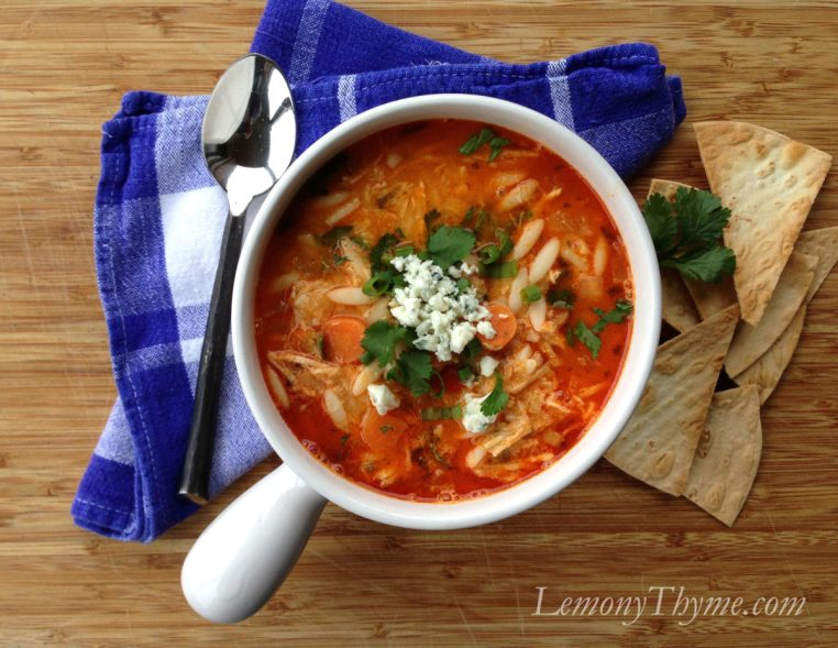 Buffalo Wing Chicken Soup