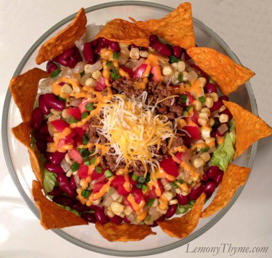 Dorito Taco Salad