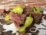 Pepperoncini Pot Roast {Crock Pot Recipe}
