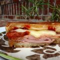 Rosemary Ham & Gruyere Cheese Sandwich {with Sundried Tomatoes}