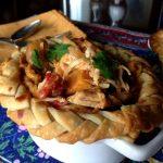African Chicken Peanut Stew {Pot Pie}