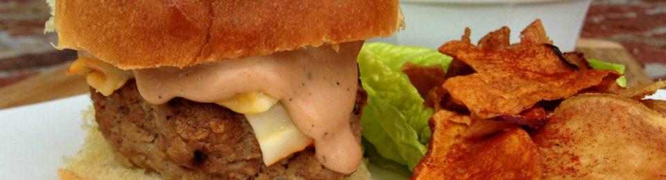 BBQ Turkey Burger Sliders