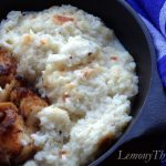 Cauliflower Cheese Grits