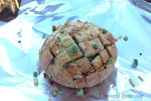 Cheesy Garlic & Herb Pull-Apart Bread