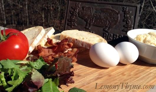 Jarlsberg BLT with Fried Egg