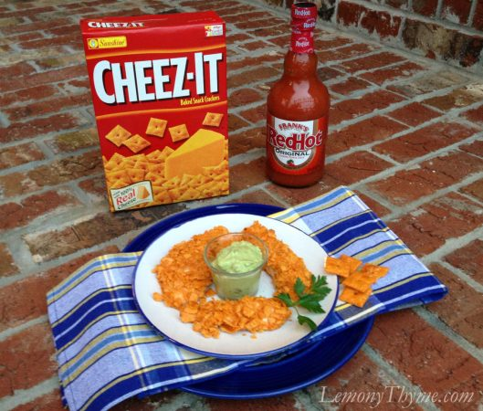 Cheez It Crusted Chicken Fingers {with Franks love}