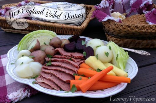 New England Boiled Dinner from Lemony Thyme