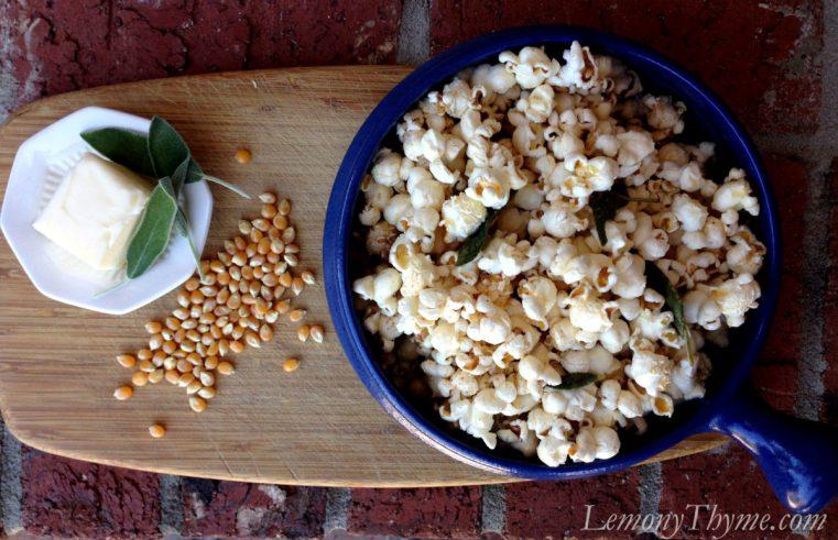Sage Brown Butter Popcorn