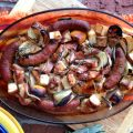 Sage Chicken & Sausage with Potatoes & Onions