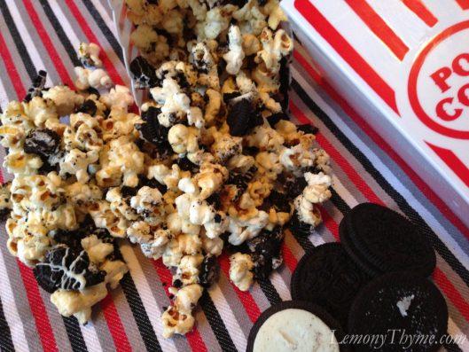 Cookies & Cream Popcorn