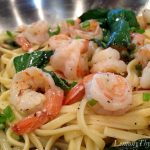 Lemon Basil Shrimp & Pasta