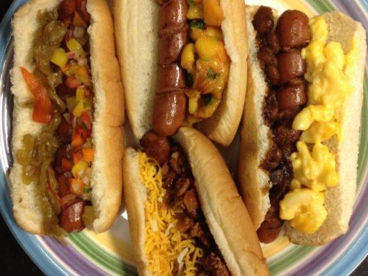 Spiral Cut Hot Dogs