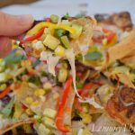 Fresh Veggie Nachos Gluten Free